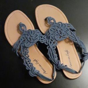 American Eagle Blue Sandals